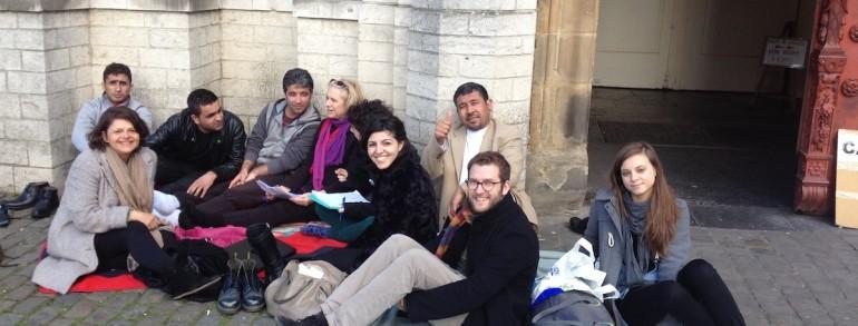 Associazione Villa Amantea a Bruxelles, rifugiati afgani