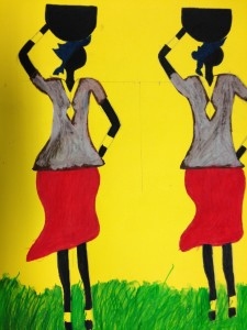 Donne africane ... Arts of African Women... Tableaux de la femme Africaine...